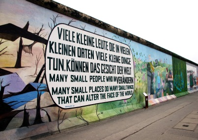 East Side Gallery, Berlin, Germany