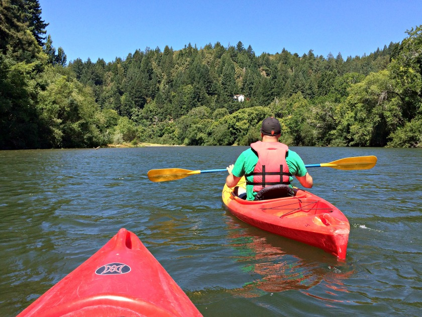 russian river kayaking