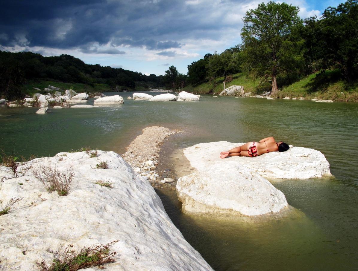 Pedernales River, Dripping Springs, Texas