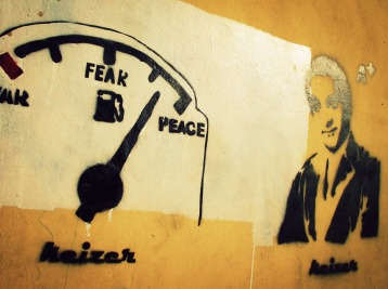 War Fear Peace, Gezira, Cairo