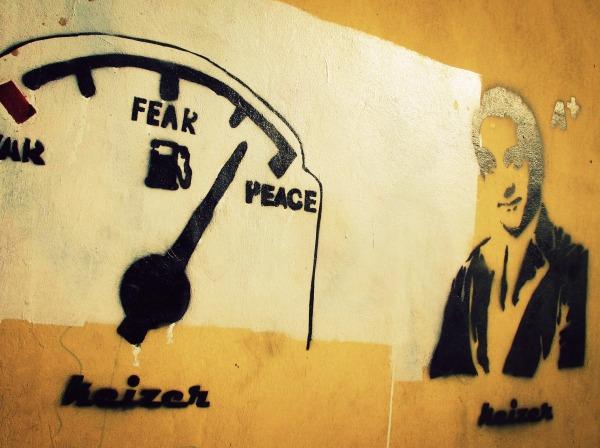 War Fear Peace, Gezira, Cairo