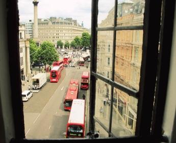 Penthouse View of Trafalgar Square, London
