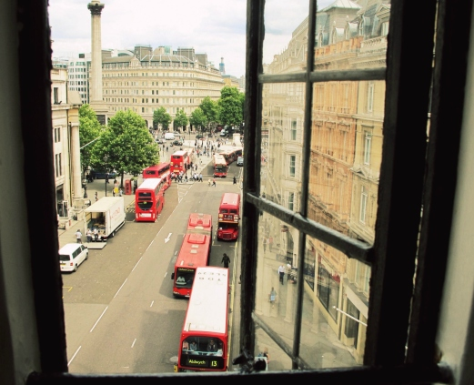 Penthouse View of Trafalgar Square, London