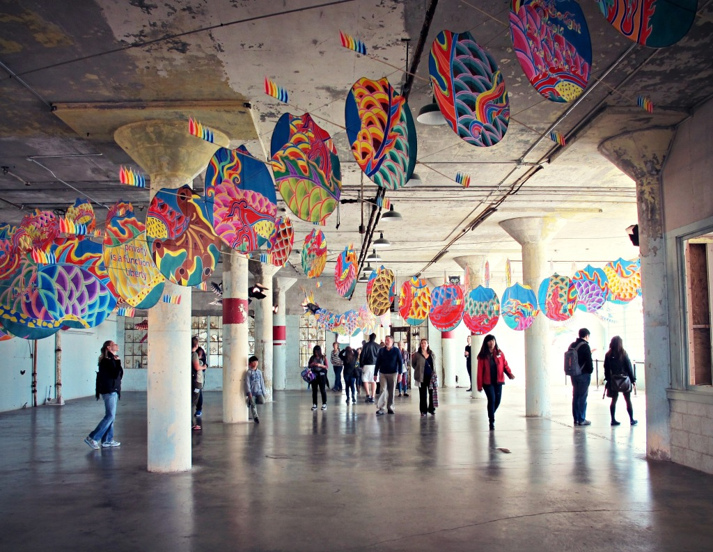 "In ""With Wind,"" Ai Weiwei places a Chinese dragon kite within a nondescript, empty space."