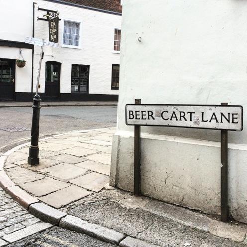 Beer Cart Lane, Canterbury
