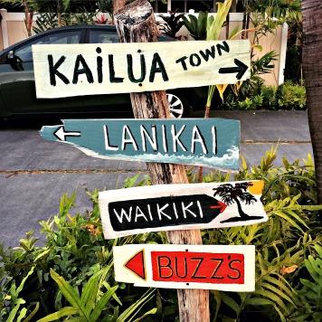Signs, Kailua, Oahu