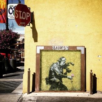 Banksy spotting, Main Street.