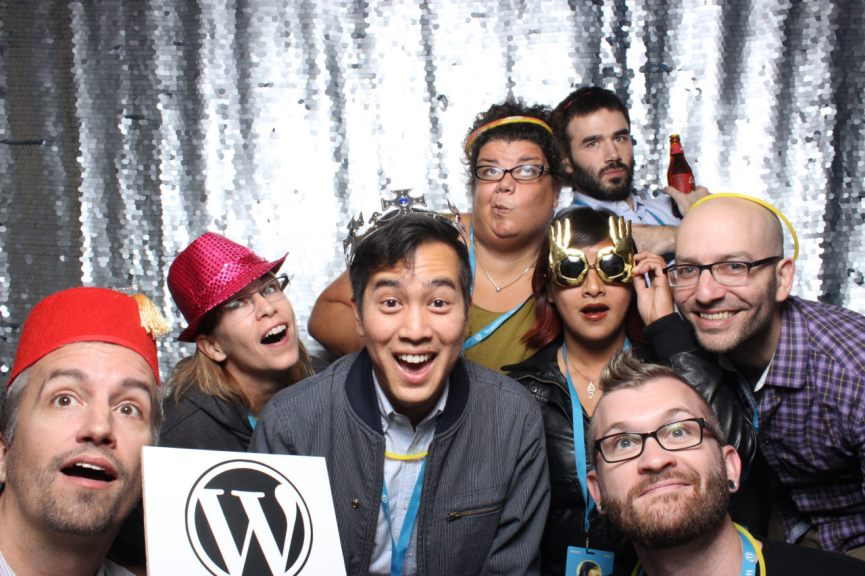 The editorial team at Automattic, minus our designer Kjell.