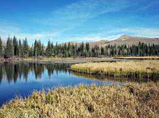 Cecret Lake, near Park City.