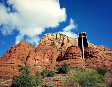 chapel of the rocks