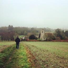 In the fields of Trottiscliffe