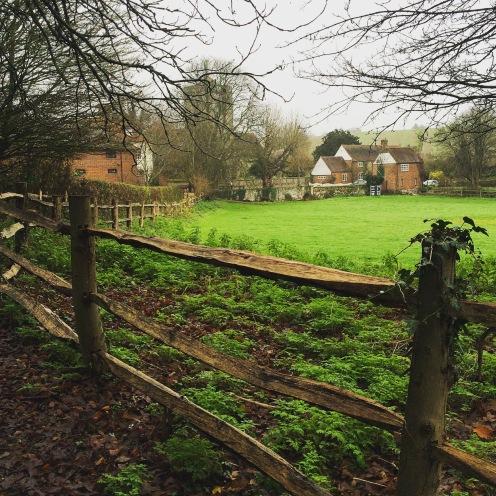 Near the village center in Trottiscliffe