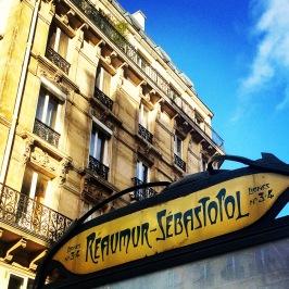 Reaumur-Sebastopol metro