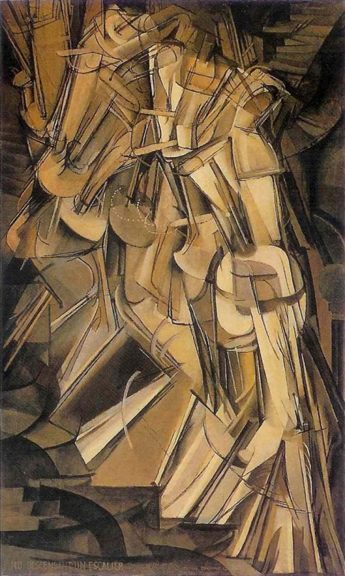 Nude Descending a Staircase, No. 2, Marcel Duchamp