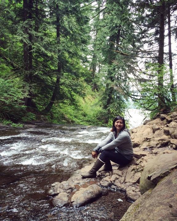 Top of Multnomah Falls