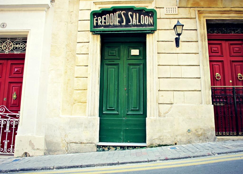 Freddie's Saloon, Malta.