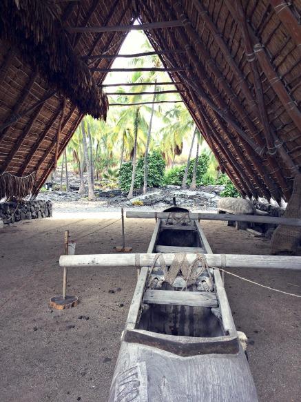 Pu`uhonua O Hōnaunau National Historical Park.