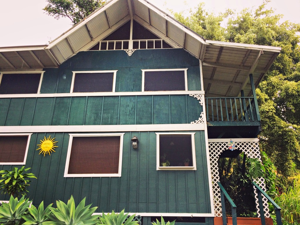 The cottage at Ka'awa Loa Plantation: home for the first four nights on the Kona coast.