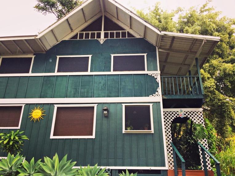 The cottage at Ka'awa Loa Plantation: home for the first four nights on the Kona coast.