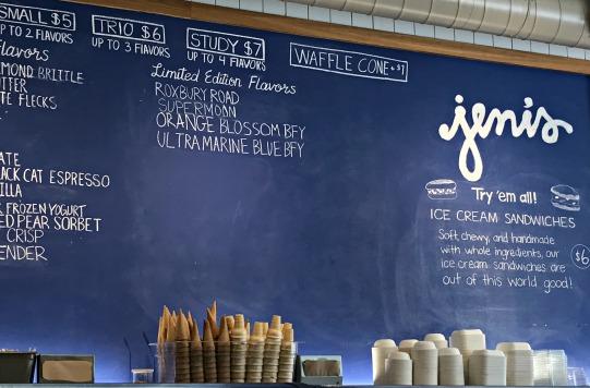 Jeni's Ice Cream shop in Hillsboro Village.