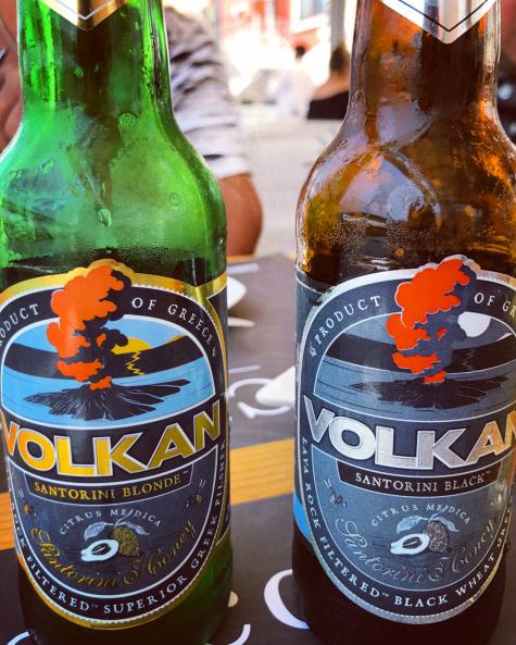 Volcanic beer