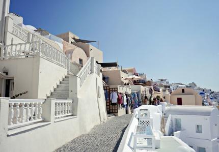 White walkway