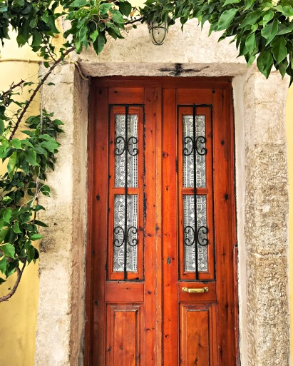 Just one of many beautiful doors spotted in town.