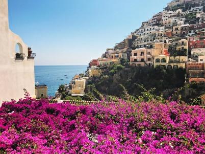 Along the Sea, Positano, Italy