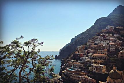 Cliffside, Positano, Italy