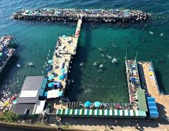 In the Sea, Sorrento, Italy