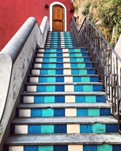 Staircase, Positano, Italy