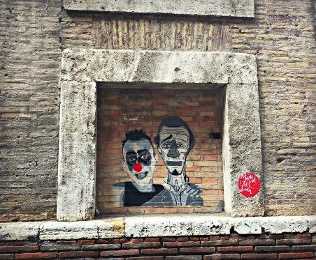 Street Art, Rome, Italy