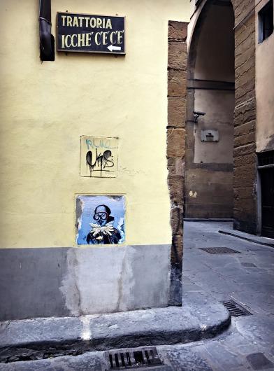 Street Corner, Florence, Italy
