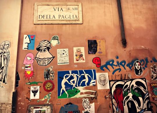 Via Della Paglia, Rome, Italy