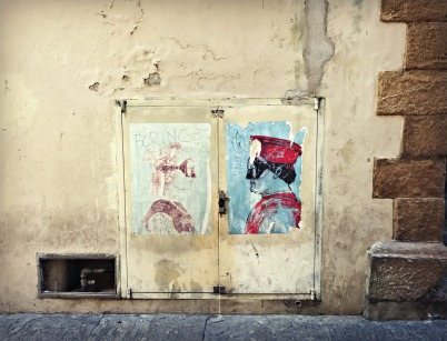 Wall Art, Florence, Italy