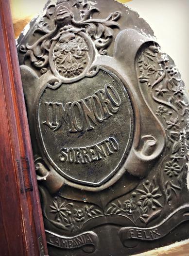 Wall Detail, Sorrento, Italy
