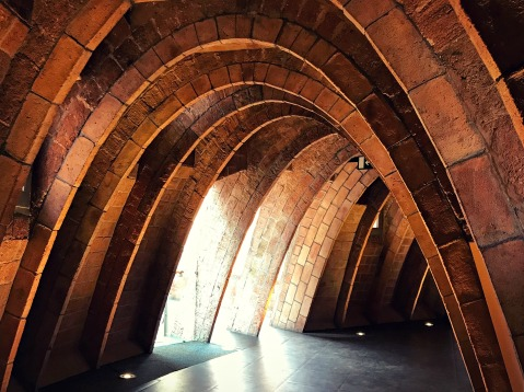 Arches, La Pedrera, Barcelona, Spain