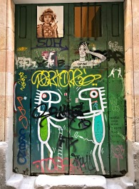 Door Art, El Born, Barcelona, Spain