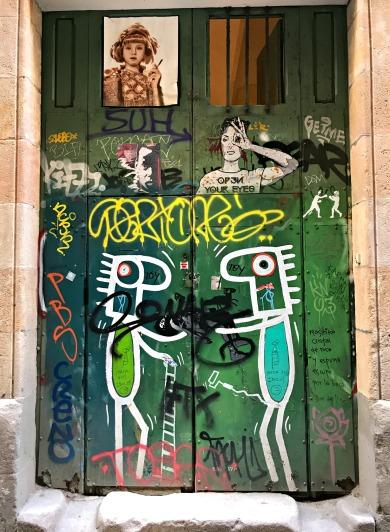 Door Art, El Born, Barcelona, Spain