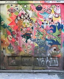 Street Art, El Born, Barcelona, Spain