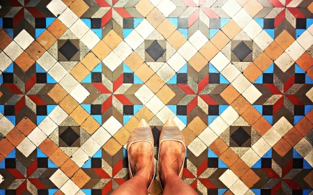 Tiles, Barcelona, Spain