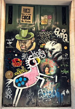 Wall Art, El Born, Barcelona, Spain
