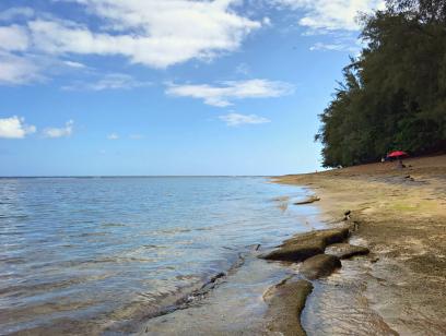 Ke'e Beach on Kauai's north shore.