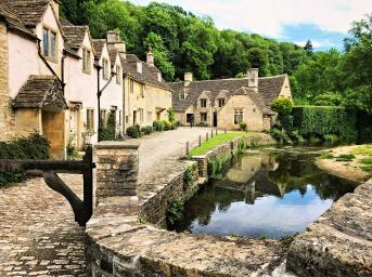 Castle Combe Village, Cotswolds, England