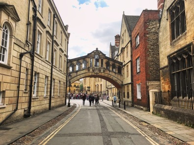 Bridge of Sighs, Oxford, England