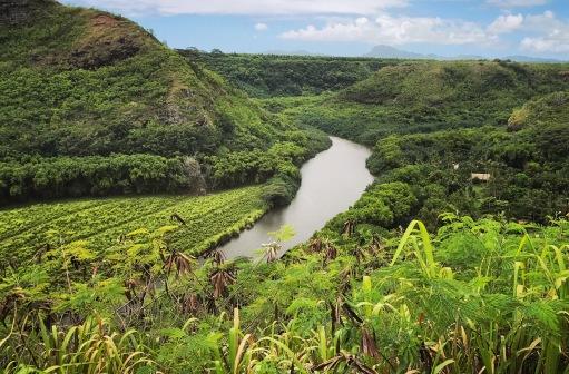 Wailua River Lookout, Kauai