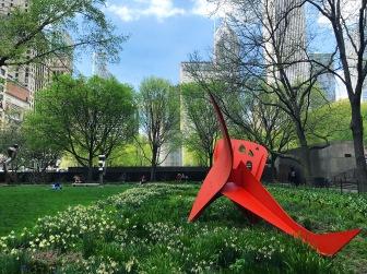 Garden at the Art Institute of Chicago